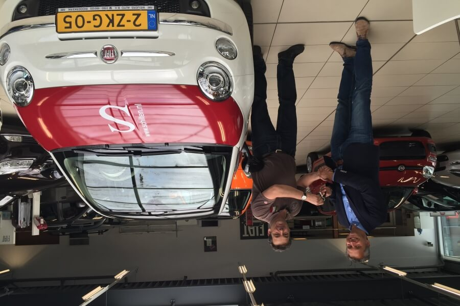 Schilten Schoonmaak Fiat 500 auto