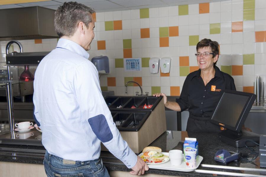 Schilten Catering verzorgt de kantine van een bedrijf