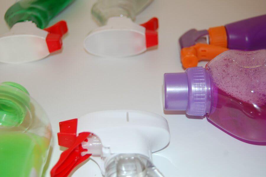 schoonmaakmiddelen om mee schoon te maken
