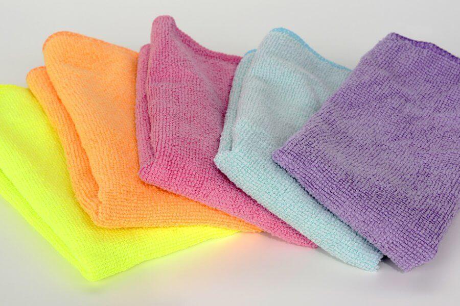microvezeldoekje om regelmatig schoonmaak te maken
