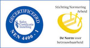 Stichting Normering Arbeid gecertificeerd