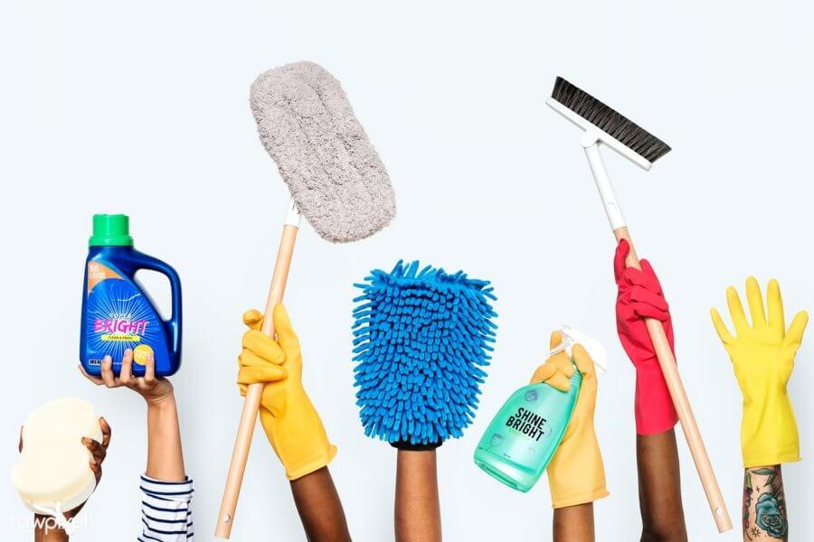 invloed van een schone werkplek